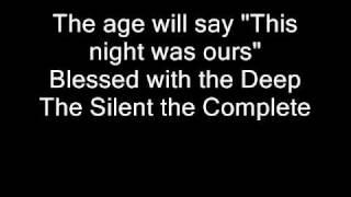 Nightwish - Deep Silent Complete (with lyrics)