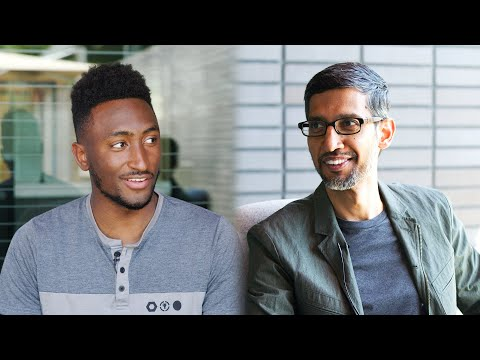 Talking Tech and AI with Google CEO Sundar Pichai!