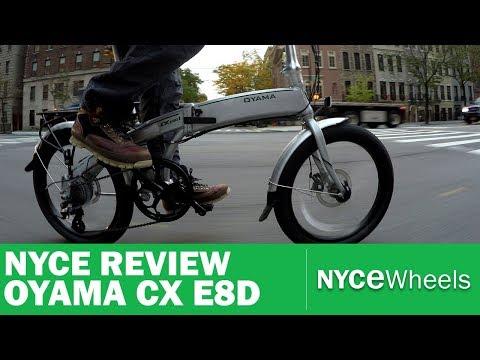 OYAMA CX E8D | $1499 Folding Electric Bike Review