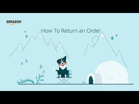 amazon.co.uk & Amazon Voucher Codes video: How to Return an Item Using the Amazon App