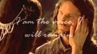 Celtic Woman-The Voice, aragorn and arwen