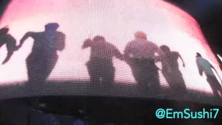 BTS at KCONinLA 2016 'YOUNG FOREVER' fancam