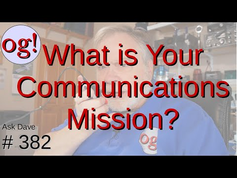 What is Your Communications Mission? (#382)