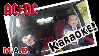 CAR KARAOKE! WE LOVE AC/DC!