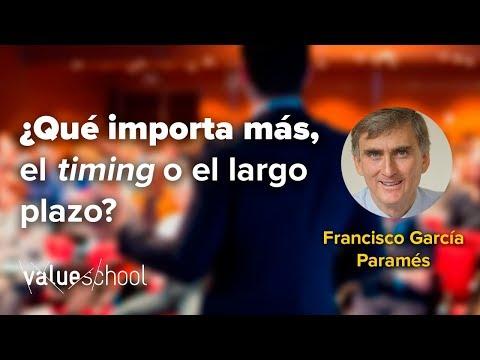 En esta intervención en la escuela de verano de Value School, Francisco Garcia Paramés, Presidente y CEO de Cobas AM, nos cuenta por qué resulta muy aconsejable - casi imprescindible - mantener un enfoque de largo plazo cuando decidimos hacer una inversión.