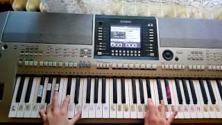 Dnes večer vám zábavu hráme - Čardáš MIX - (Klávesy), (Piano) Ako nato bez not, Yamaha PSR-S710