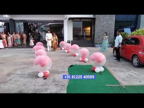 Balloon blast Bride Groom Entry 81225 40589 Chennai | Andhra | Tamil Nadu | Bangalore | Goa