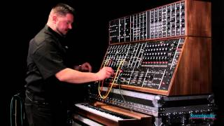 Moog System 55 Modular Synth Demo