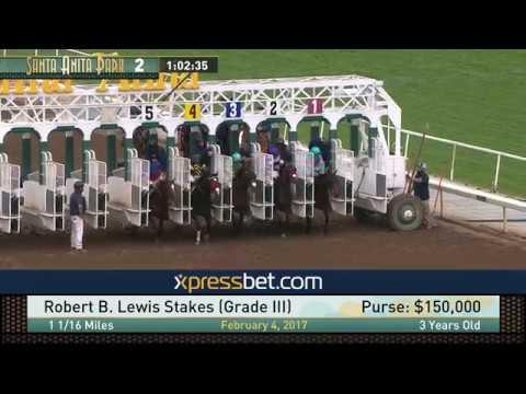 Robert B. Lewis Stakes (Gr. III) - February 4, 2017