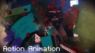 Minecraft Animation - The Legend (Fight Animation)