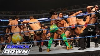 41-Man Battle Royal for a Championship Match of Winner's Choosing: SmackDown, October 14, 2011 width=