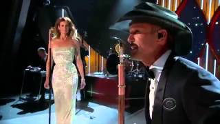 Tim McGraw and Faith Hill - 2014 ACM Awards - Meanwhile Back At Mama's