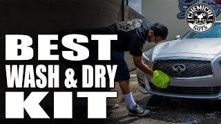 One Car Wash Bucket Kit For Every Car Wash Job: The Best Wash And Dry Kit - Chemical Guys
