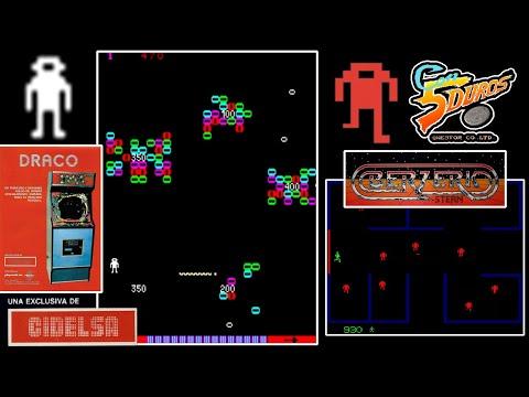 """DRACO  - """"CON 5 DUROS"""" Episodio 908 (+ Berzerk Arcade) (1cc) (1 loop)"""