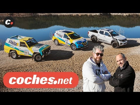 Nissan X-Trail 4x4Fan, Navara Off-Roader AT32 y Patrol Dakar '87 | Review en español | coches.net