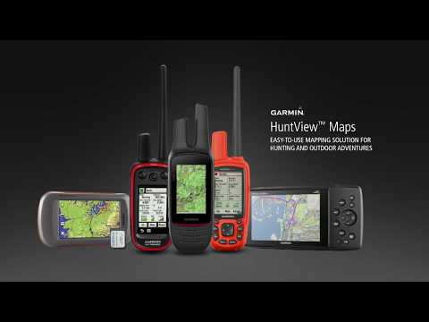 Garmin HuntView Maps: Seamless Hunting Map Solution