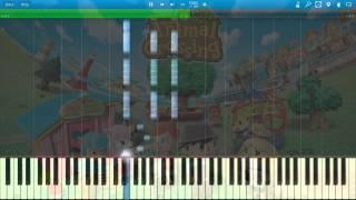 Animal Crossing - DJ K.K. (Piano Arrangement) (Synthesia)