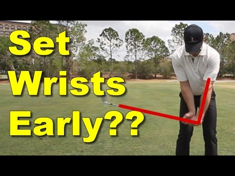 Should You Set Your Wrists Early in Golf Backswing? - 60 SEC. GOLF TIPS ROTARYSWING.COM