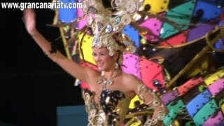 Melodie Alonso 1ª Dama de Honor Gala Reina del Carnaval de Telde 2013