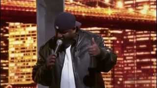 Aries Spears Immigrant at Popeyes