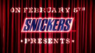 Super Bowl Ad: Snickers Live Commercial