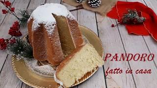 PANDORO FATTO IN CASA- ricetta facile e senza macchinari