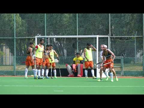 India Mens Hockey Training Session1