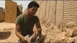 Laundry in a combat zone? Marines show you how