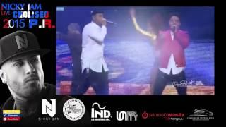 "Ay Vamos - J. Balvin Ft Nicky Jam  ""Dimelo Papi"" The Concert | Choliseo P.R. 2015"