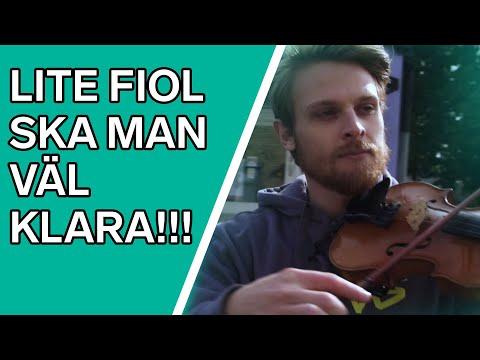 Jonas testar - Stråkinstrument