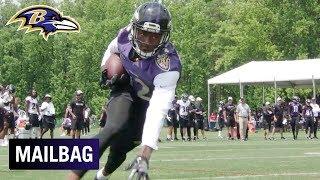 Will Jordan Lasley & Jaleel Scott Impact the Offense in 2019? | Ravens Mailbag