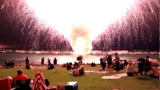 Amazing Firework Fail - The BIGGEST Firework Fail ever