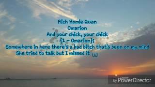 I'm sayin' (omarion feat. rich homie quan) lyrics