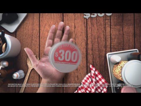 Ahora tus tapas de Coca-Cola valen 300 pesos.