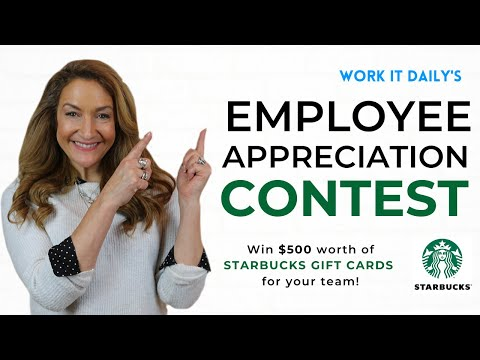 Work It Daily's Starbucks Card B2B Giveaway photo