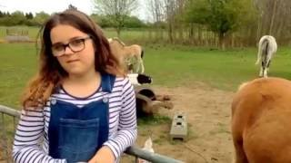 Somewhere Over The Rainbow - Cover Song - Music Video - Singing By 11 Year Old Girl Jodie State