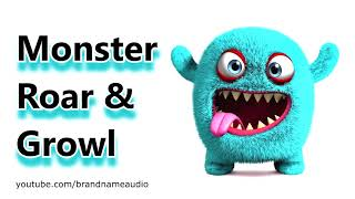 Monster Sounds Roar and Growl