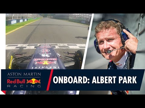 On Board with David Coulthard at Albert Park