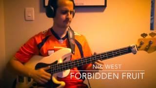 Nik West Forbidden Fruit - Bass Cover by Thiago Brazileiro