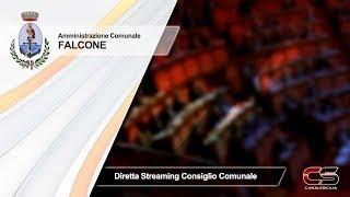 Falcone - 29.09.2019 diretta streaming del Consiglio Comunale - www.canalesicilia.it