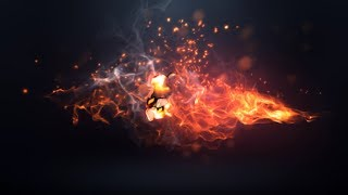Fire Logo Intro | After Effects template