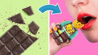 Making Toys Out Of Candy! 8 DIY Edible Candy Toys