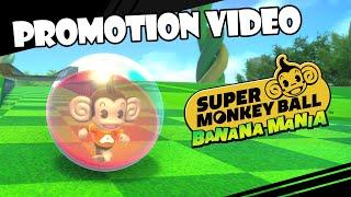 Super Monkey Ball Banana Mania promotional video