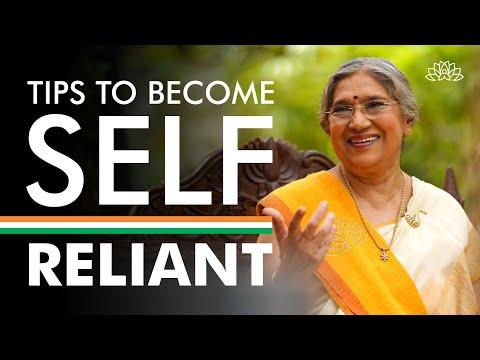 How to grow into a self-reliant person? | Dr. Hansaji Yogendra