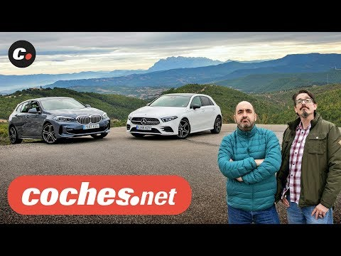 BMW Serie 1 vs Mercedes Clase A 2020 | Prueba Comparativa / Review en español | coches.net