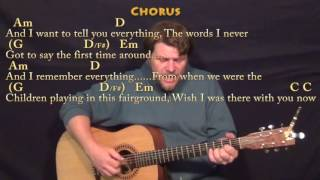 This Town (Niall Horan) Fingerstyle Guitar Cover Lesson in G with Chords/Lyrics
