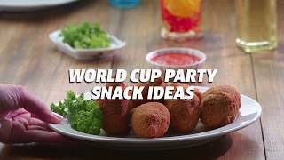 2018 FIFA World Cup Party Snack Ideas | Homemade Snack Recipes
