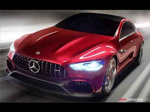 Car Design: 2017 Mercedes-AMG GT Concept