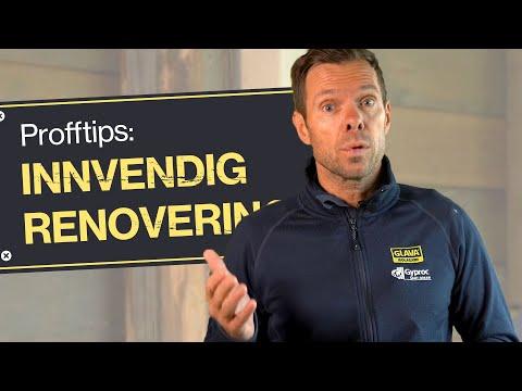 Profftips 2: Innvendig renovering