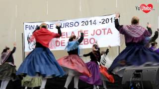 Final de curso Escuela de Jota de Utebo 2015
